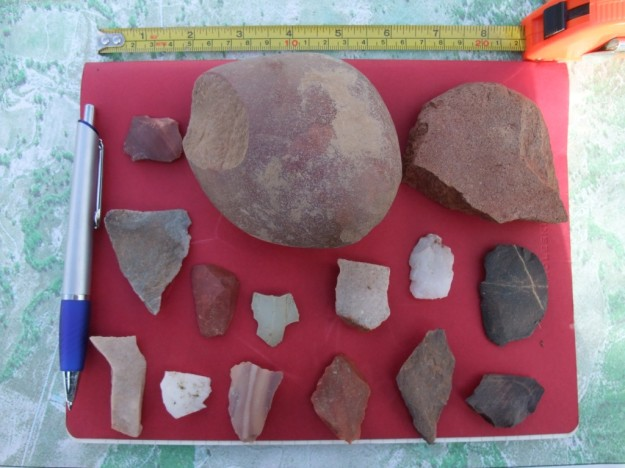 Stone artefacts found on Ballancar