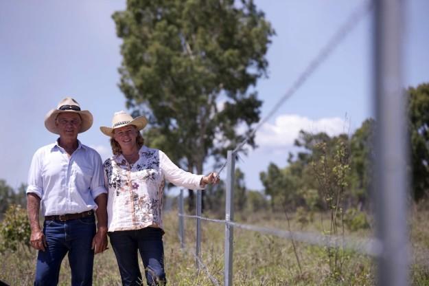 Central Queensland Graziers Jeff and Linda Edgar